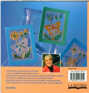 Nieuwe transparante wenskaarten met glasverf  achterkant