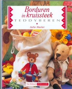 teddyberen in kruissteek
